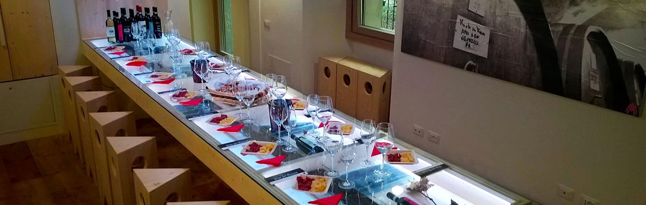 Sala degustazione Marsetti